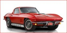 1967 Corvette Sting Ray Sport Coupe red - Google Search