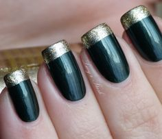 KIKO Frozen collection #02 and Revlon Gold Coin in a simple ...
