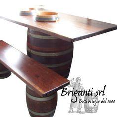 2245 - Tavolo da botte per bar e osteria cod.040/A