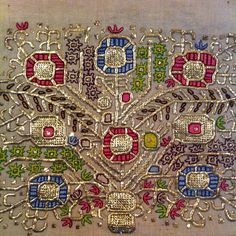 Turkish traditional embroidery