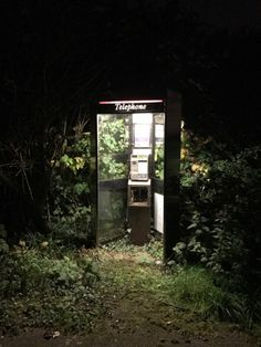 """Don't Be A Sucker eerian-sadow: """"The box says """"telephone"""" but all my experience says """"save point before TERRIBLE boss fight"""" """" Apocalypse Aesthetic, Post Apocalypse, Abandoned Places, Aesthetic Pictures, Creepy, Weird, Scenery, Images, Cool Stuff"""