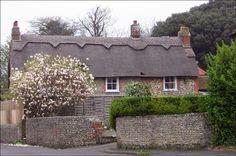 Blake's cottage in Felpham, Sussex Fairytale Cottage, Storybook Cottage, William Blake Art, Bognor Regis, Village People, Thatched Roof, Chichester, Places To Visit, England