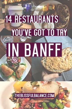 14 Restaurants You've Got to Try in Banff | the blissful balance