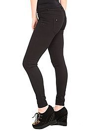 HOTTOPIC.COM - LOVEsick Black Over Dye Wash Super Skinny Jeans