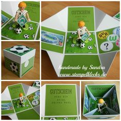 Fußball Explosionsbox