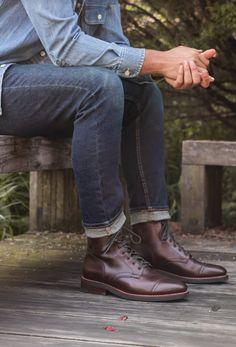 22 Best Brown Captain | Thursday Boots images | Boots, Mens