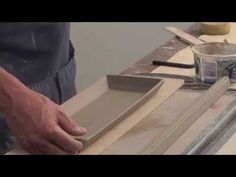 Pottery Video:  How to Dress Up a Tray with Custom Extruded Trim   DARYL BAIRD