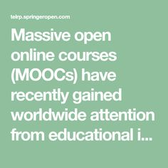 18 Great MOOCs & more: למידה מקוונת images in 2019 | Learning