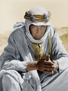 Peter O'Toole Lawrence of Arabia, 1962 Director: David Lean