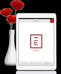Envoy- great software product web design