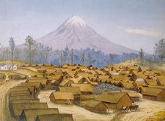 Under the leadership of Te Whiti and Tohu Kākahi, Parihaka Māori began a ploughing campaign in protest against European settlement on land confiscated from Māori. Nz History, History Online, The Fifth Of November, Chatham Islands, Maori People, New Zealand Landscape, New Zealand Art, Maori Art, Easter Island