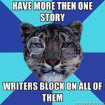 Writer Leopard- Writer's block *than