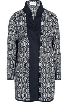 Étoile Isabel Marant Ebba cotton-blend blanket coat | NET-A-PORTER