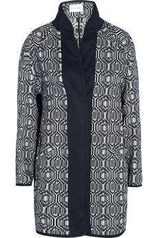 Étoile Isabel Marant Ebba cotton-blend blanket coat | NET-A-PORTER