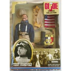 G.I.JOE CLASSIC COLLECTION 12 INCH TEDDY ROOSEVELT LIEUTENANT LT. COL. COLONEL