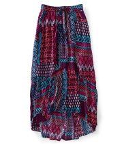 Tribal Maxi Woven Skirt - Aéropostale®