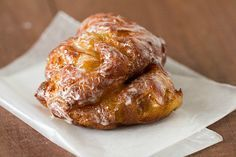 Dunkin Donuts Copycat Recipes: Apple Fritter Donuts
