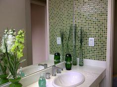 decoração de banheiro com pastilhas - Pesquisa Google