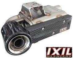 Kawasaki Z1000 SX 2010- IXIL SX1 Full Stainless Exhaust System