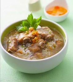 เมนูอาหารไทยตามสั่ง พร้อมวิธีทำ: วิธีทำข้าวต้มซี่โครงหมูซีอิ๊ว