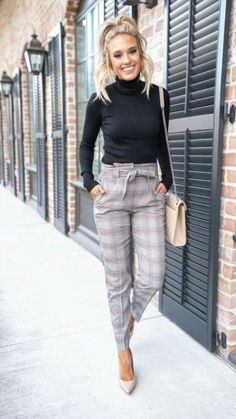 Fall Outfits For Work, Casual Work Outfits, Mode Outfits, Work Casual, Business Casual Outfits For Women, Work Outfits Office, Casual Work Clothes, Work Clothes Women, Summer Business Outfits