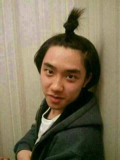 EXO-K Do Kyungsoo HAHA OH MY GOSH THIS IS SERIOUSLY THE FUNNIEST PICTURE OF KYUNGSOO I'VE EVER SEEN!