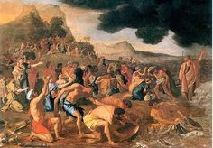 """""""The Crossing of the Red Sea"""", Nicholas Poussin"""