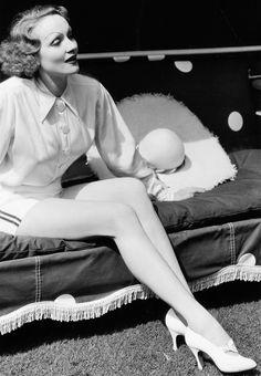 Marlene Dietrich   27 December 1901 – 6 May 1992                                                                                                                                                      More