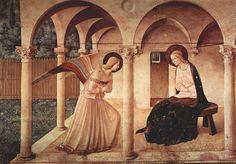 Giotto - The Annunciation. #giotto, #art