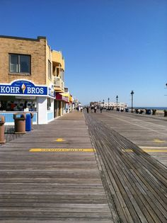 The board walk in Ocean City, NJ - The best place ever! We used to go here every summer for family vacations and I LOVED it.