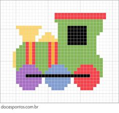 Miscellaneous Charts - The Crafty Co - Diy Crafts - DIY & Crafts Mini Cross Stitch, Beaded Cross Stitch, Cross Stitch Borders, Cross Stitching, Cross Stitch Embroidery, Cross Stitch Patterns, Quilt Patterns, Cross Stitch Train, Crochet Quilt