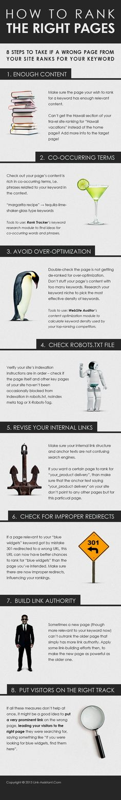 Complete Checklist on Making the Right Landing Page Rank [Infographic] - Search Engine Journal