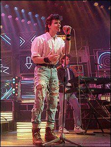 Costume idea - A-ha's Morten Harket performing on Top of the Pops in 1986