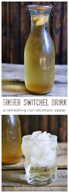 Ginger Switchel Drink made with water, honey, raw apple cider vinegar, and lots of ginger. Apple Cider Vinegar Remedies, Raw Apple Cider Vinegar, Natural Cold Remedies, Non Alcoholic Drinks, Beverages, Cocktails, Acv Drinks, Cold Drinks, Fermented Foods