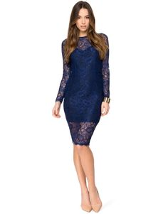 Sheer Lace Dress by Kardashian Kollection