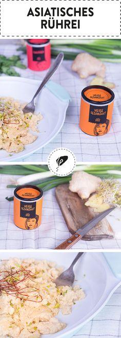 Du willst Deinem schnöden Rührei etwas Schmackes verleihen? Dann probier' doch mal unsere asiatische Variante! Chili, Sesamsaat und Zitronengras bringen ordentlich Pepp in dein liebstes Frühstück!