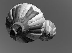 Today's Photo of the Day is an excellent black and white picture of hot air balloons in #GilbertAZ taken by Donald Palansky and shared via Flickr.