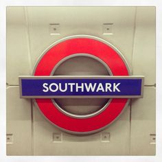 Southwark London Underground Station in Southwark, Greater London