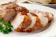 Recette Rôti de longe de porc frais à l'érable - Recettes du Québec