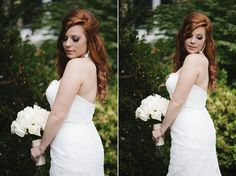 Valory Jean Photography. Gorgeous redhead bride