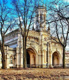 Железнодорожный вокзал станции Новый Петергоф. Автор фото: Alexsandrkonovodov.