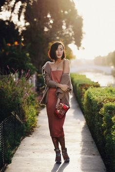 Chriselle Lim's Valentine's Day outfit. Romantic!