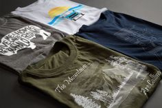 "Make a statement with these adventure inspired tees! <a class=""pintag searchlink"" data-query=""%23tshirts"" data-type=""hashtag"" href=""/search/?q=%23tshirts&rs=hashtag"" rel=""nofollow"" title=""#tshirts search Pinterest"">#tshirts</a> <a class=""pintag"" href=""/explore/hiking/"" title=""#hiking explore Pinterest"">#hiking</a> <a class=""pintag"" href=""/explore/camping/"" title=""#camping explore Pinterest"">#camping</a> <a class=""pintag"" href=""/explore/backpacking/"" title=""#backpacking explore Pinterest"">#backpacking</a> <a class=""pintag"" href=""/explore/adventure/"" title=""#adventure explore Pinterest"">#adventure</a> <a class=""pintag searchlink"" data-query=""%23giftidea"" data-type=""hashtag"" href=""/search/?q=%23giftidea&rs=hashtag"" rel=""nofollow"" title=""#giftidea search Pinterest"">#giftidea</a>"
