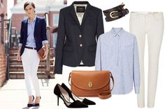 A Polished, Preppy Look To Help Land Your Next Job #Refinery29