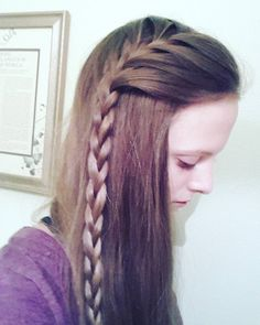 """40 Likes, 5 Comments - Willow and Heather (@thebraidedsisters) on Instagram: """"Partial side french braid  #thebraidedsisters #hair #braid #frenchbraids #halfuphalfdowncontest…"""""""