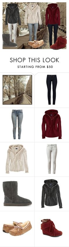 """""""Fall fashion"""" by shadysqueen ❤ liked on Polyvore featuring Universal Lighting and Decor, J Brand, Paige Denim, American Eagle Outfitters, Acne Studios and UGG Australia"""