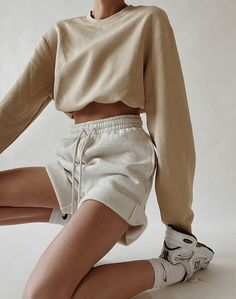 Weekend Attire | MODEDAMOUR Cute Comfy Outfits, Lazy Outfits, Trendy Outfits, Summer Outfits, Girl Outfits, Fashion Outfits, Womens Fashion, Fashion Fall, Socks Outfit
