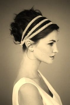 Jane Austen inspired hair
