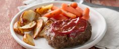 Dinner's in an easy-to-assemble packet!  Grill meat, potatoes and carrots for a satisfying meal.