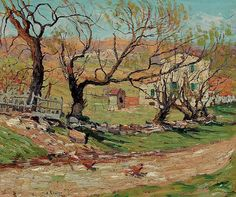 View Willows in spring by Ernest Lawson on artnet. Browse upcoming and past auction lots by Ernest Lawson. Watercolor Landscape, Landscape Paintings, Landscapes, Art Nouveau, Ashcan School, American Impressionism, Most Famous Artists, Victorian Life, Art Students League